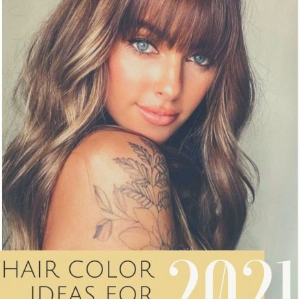 Summer hair color for brunette to get inspired for any hair length!