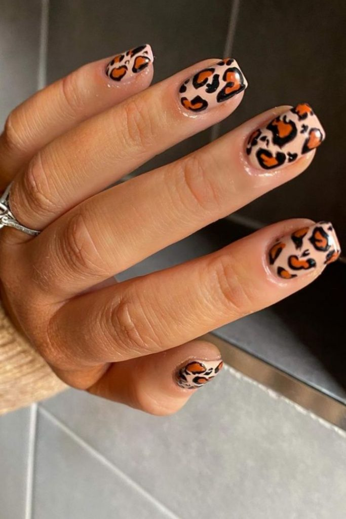 Natural short square nails designs 2021 You'll love in Summer!