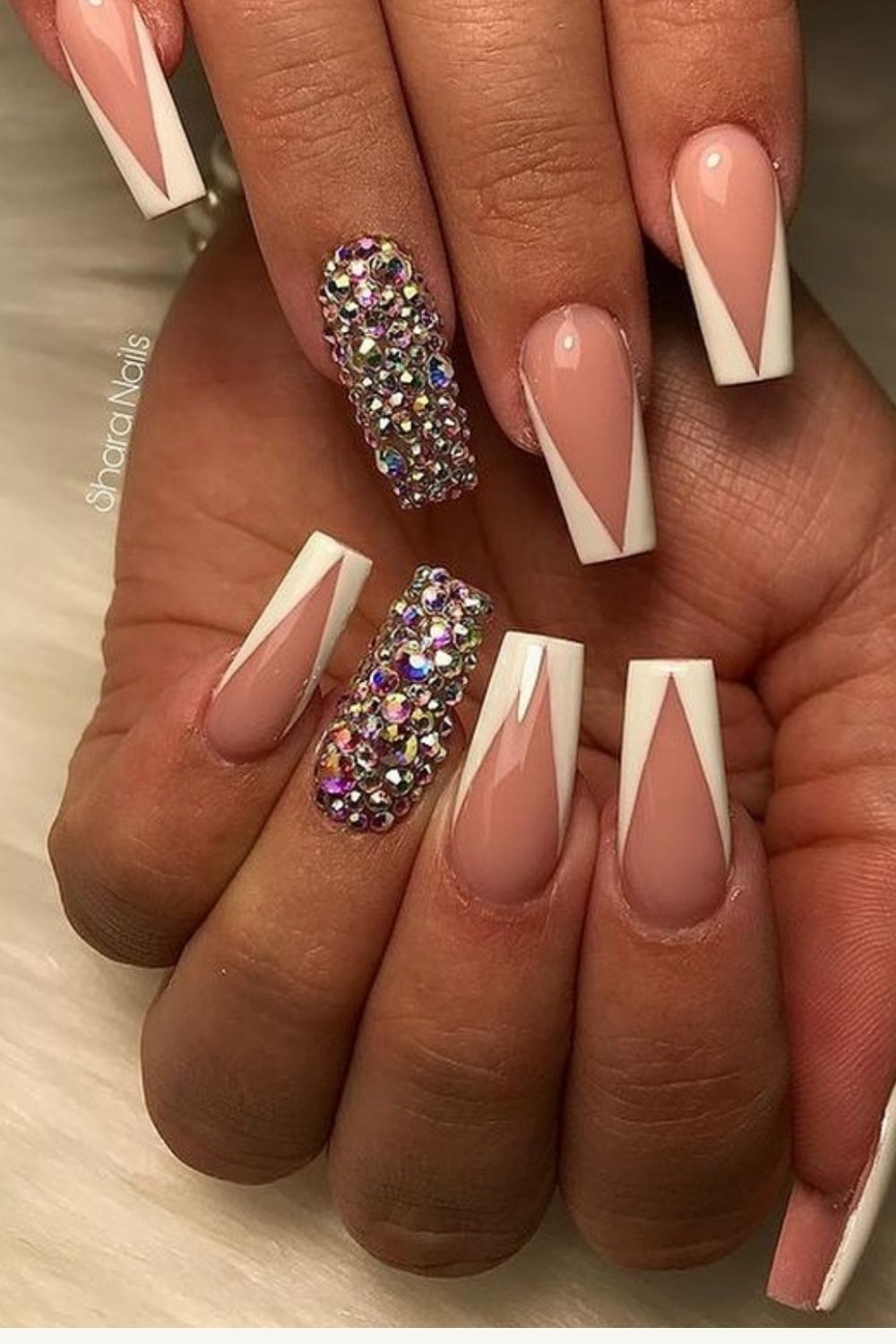 Acrylic Glitter coffin nails designs for Summer 2021!