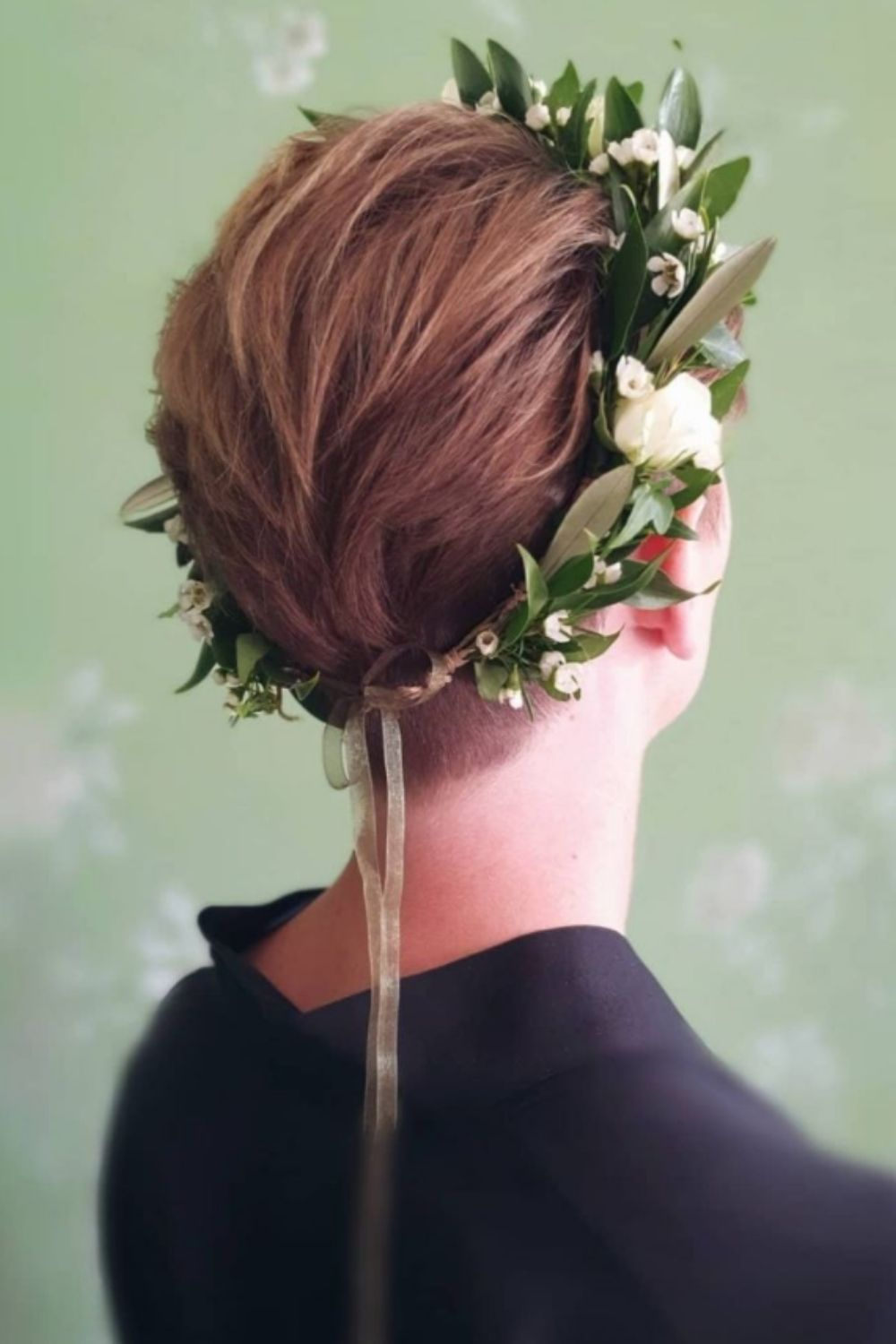 How to styles the wedding hairstyles for short hair
