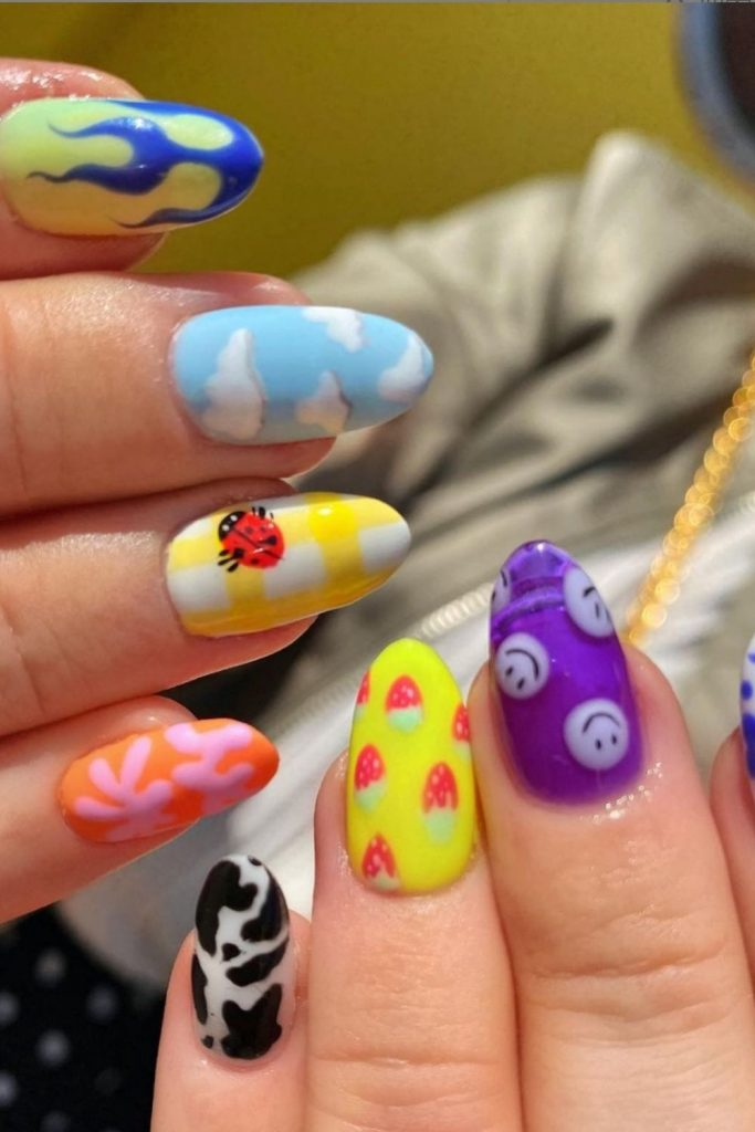 65 Hottest Summer nails colors 2021 trends to get inspired !