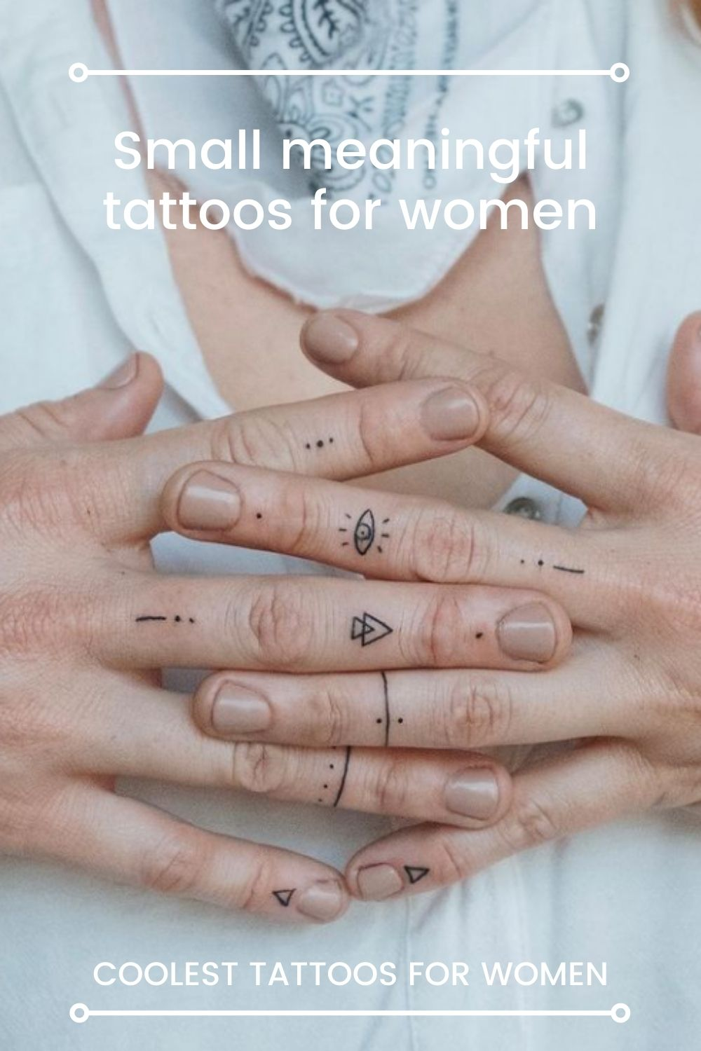 Small meaningful tattoos for women | The coolest tattoo of the year