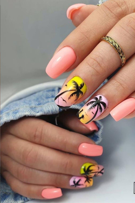 Beach Nail Designs: 40 Pretty Nail Ideas For Vacation!