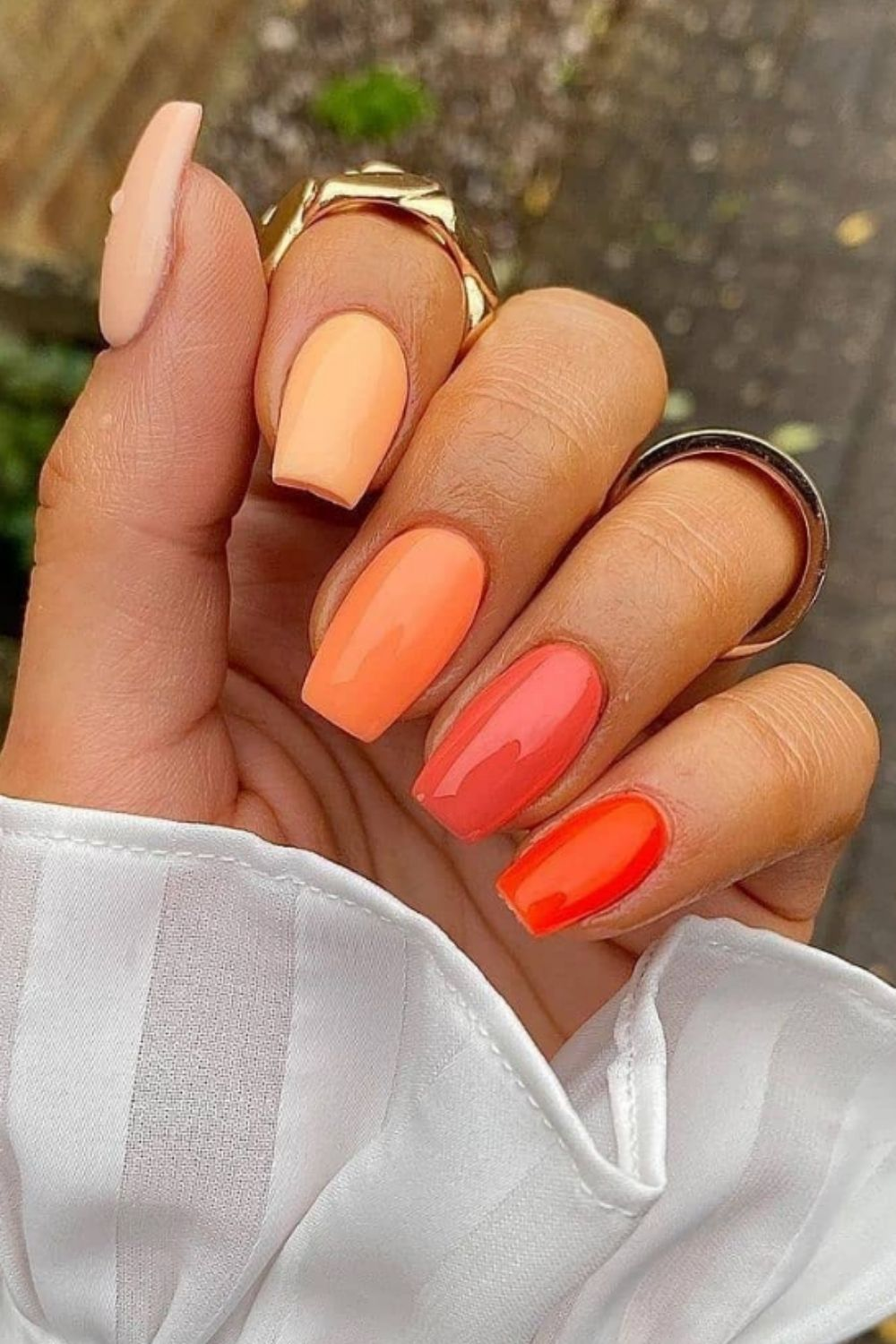 Short coffin nails   All the 2021 Nail Trends You'll Want to Wear ASAP