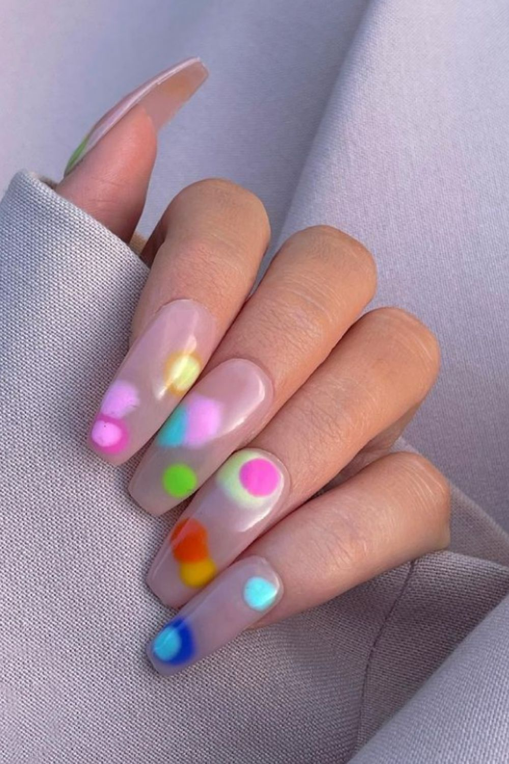 Awesome Summer Coffin Nails You'll Want To Try 2021!