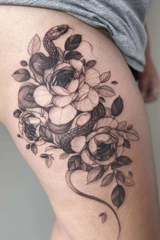 Snake tattoo   55 Inspiring Snake Tattoos for Both Men and Women
