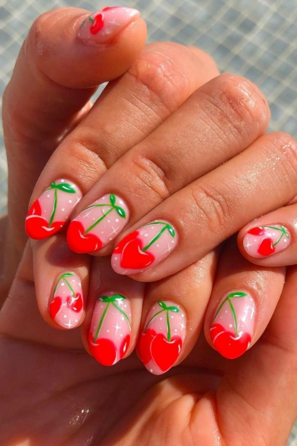 Summer almond nails | To Be All About the Almond Nails This Summer