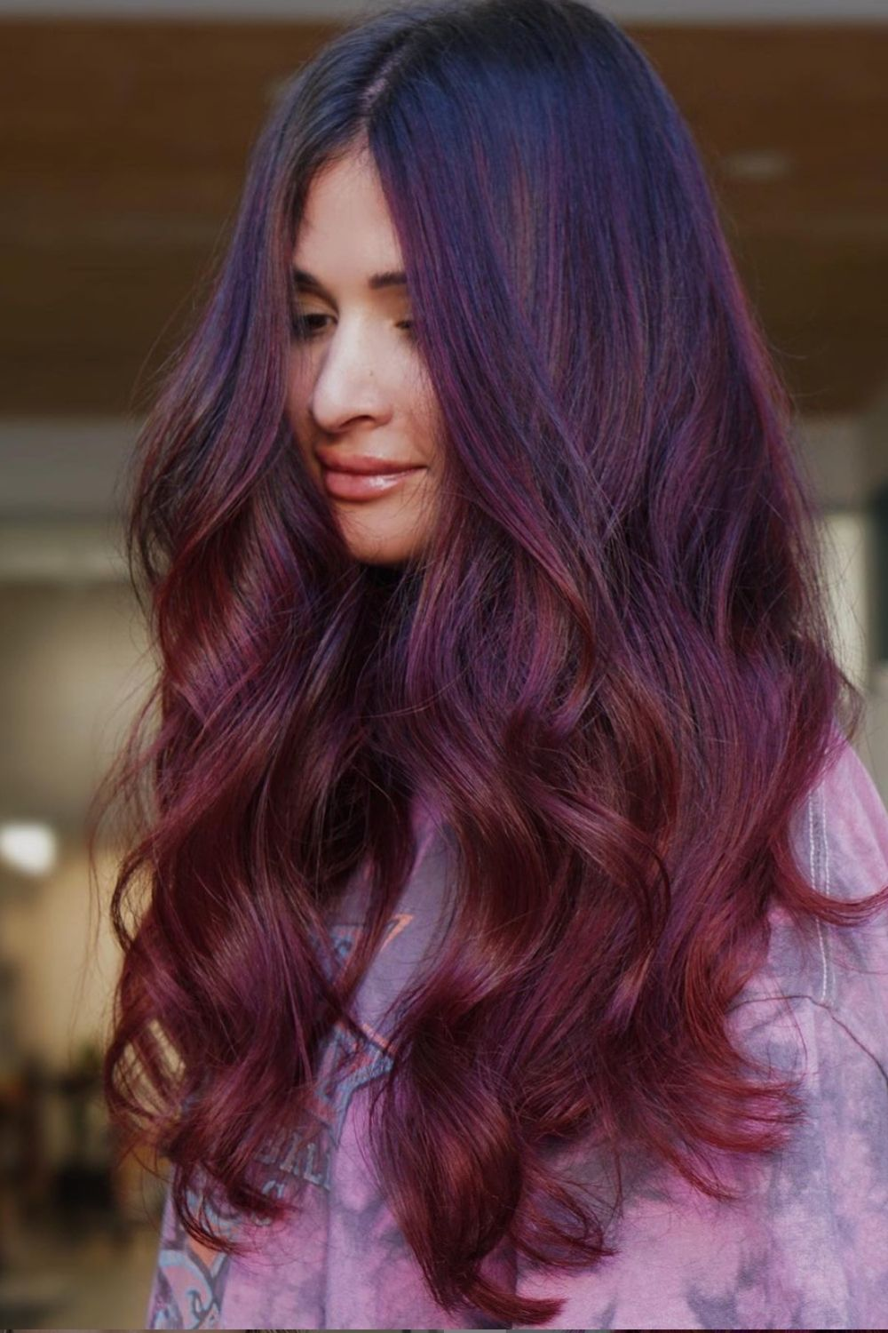 32 Best purple hair color for dark hair to copy ASAP 2021