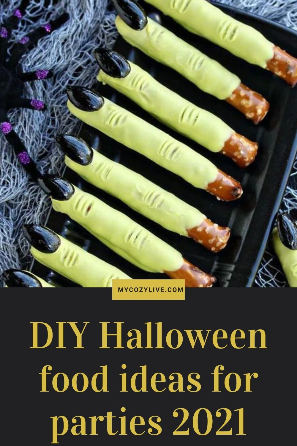 32 DIY Halloween food ideas for parties 2021 suitable for kids and adults