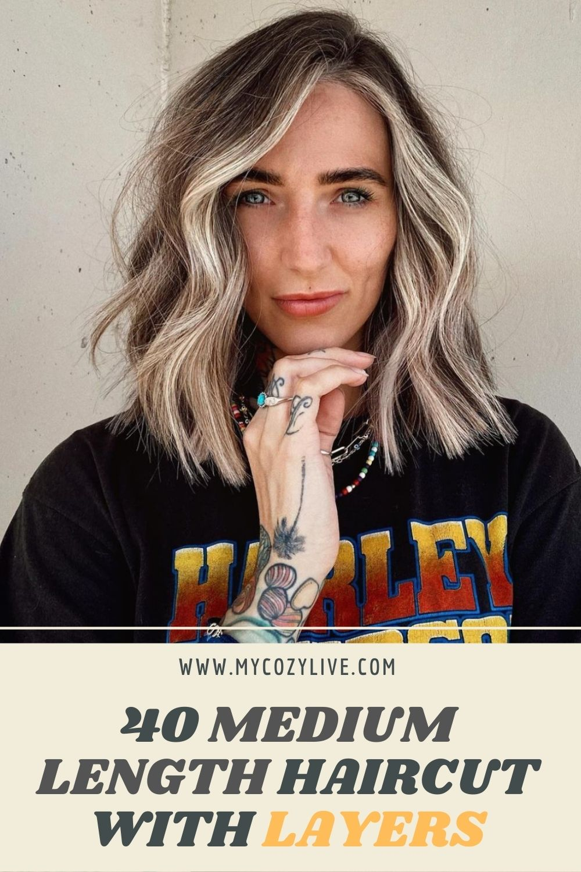 40 Fabulous Medium Length Layered Haircut To Be Stylish