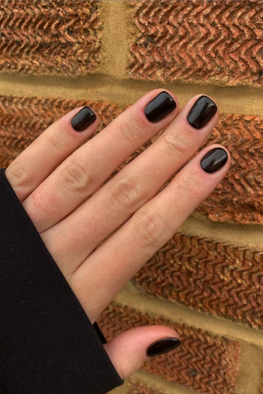 45 Top Homecoming nails with black nails 2021 to try
