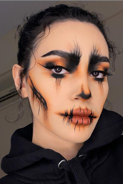 40 Creative Bloody Halloween makeup looks For Halloween party