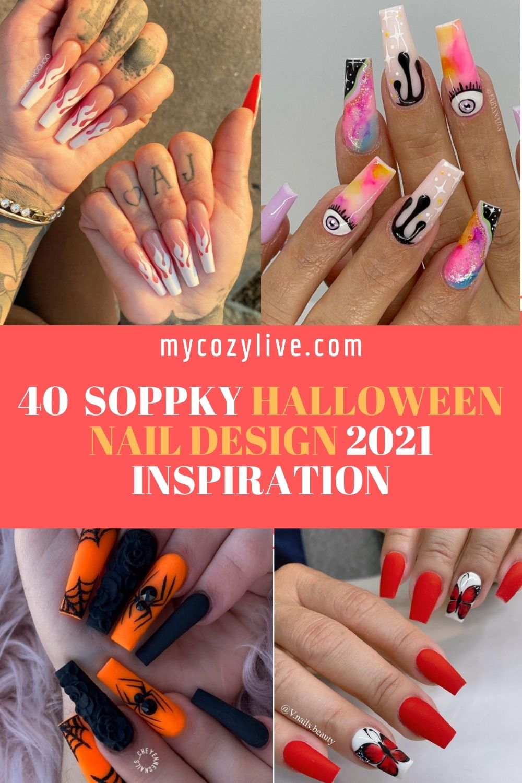 Best Halloween Coffin Nails Ideas