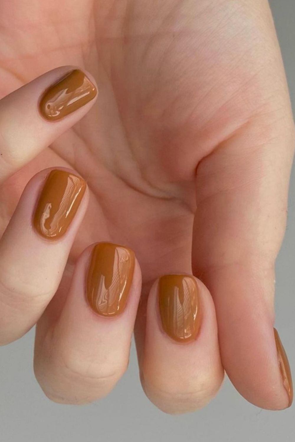 Best Brown nails design ideas for Short Fall nail colors 2021